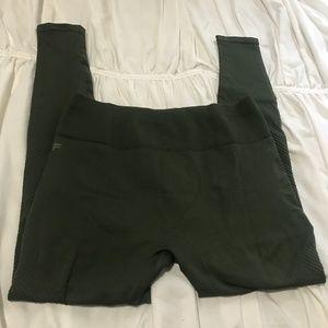 Fabletics olive green seamless legging